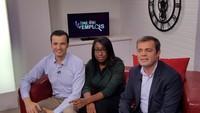 Pierre Deleforge et Cindy Jean-Philippe de Rezo Social, invités de l émission Enquête d'emplois pour parler des entreprises dinsertion