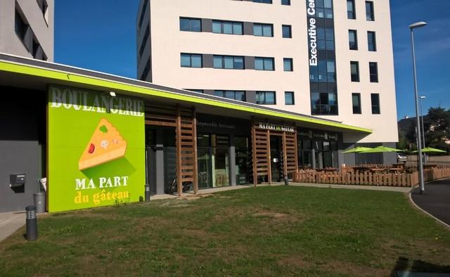 «Ma Part du Gâteau» boulangerie-Pâtisserie, entreprise d'insertion, dans les quartiers Nord de Nantes
