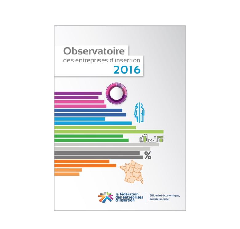 Couverture de l'Observatoire 2016 des entreprises d'insertion