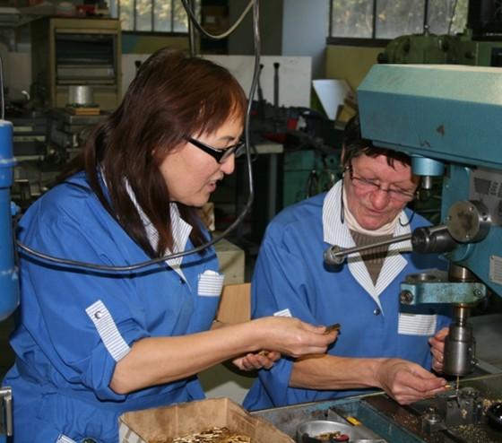 Atelier de BTTm - Entreprise dinsertion spécialisée dans la sous-traitance industrielle
