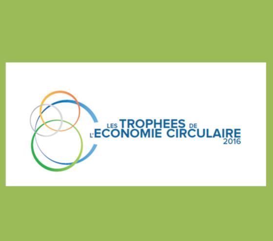 Trophées de l économie circulaire 2016