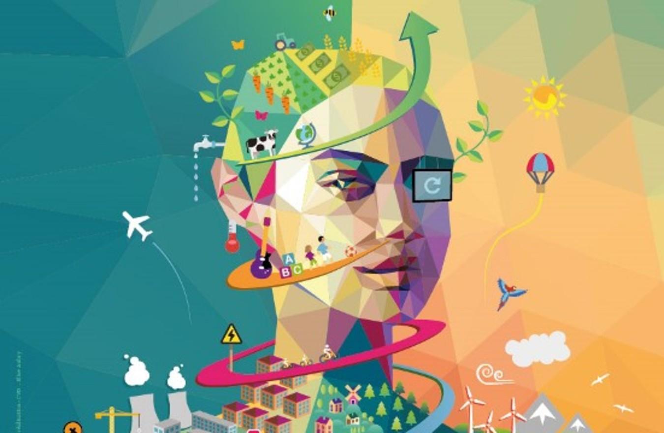 Affiche - Forum international des dirigeants de l économie sociale et solidaire