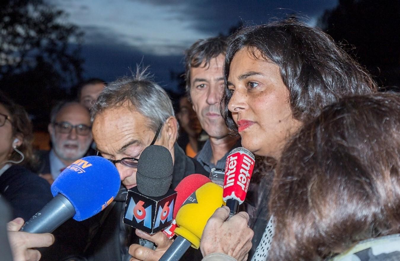 Photo de la Ministre du Travail, Myriam El Khomri au Groupe La Varappe, entreprise d insertion