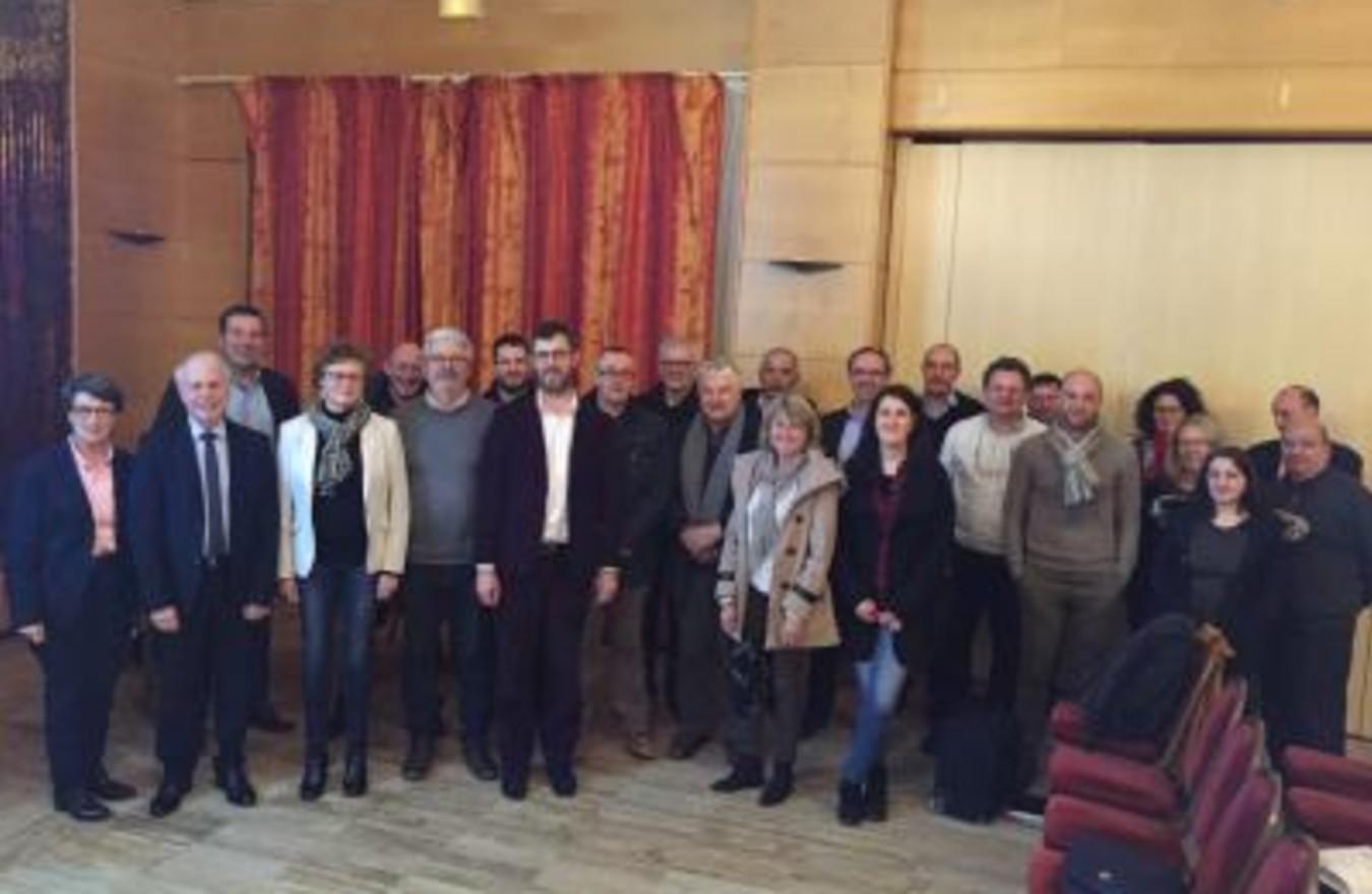 Photo Assemblée générale constitutive : les fédérations régionales NPDC et Picardie se mettent à l ère de la grande région