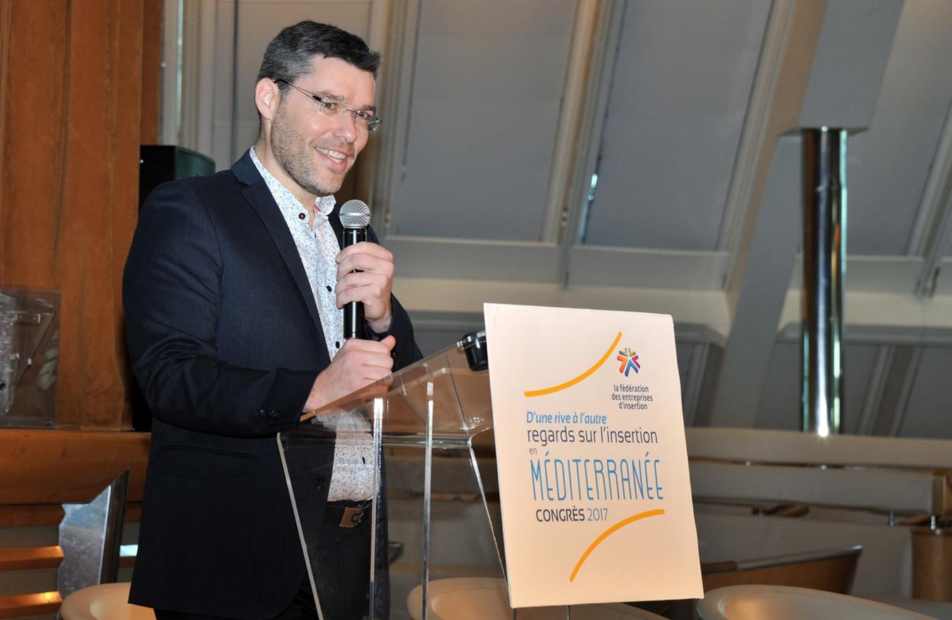 Luc de Gardelle succède à Kenny Bertonazzi à la présidence de la fédération des entreprises d'insertion