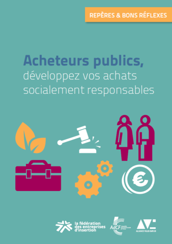 Couv Acheteurs publics, développez vos achats socialement responsables